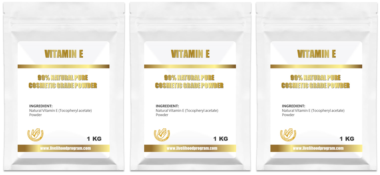 Cheapest Natural Vitamin E Powder Cosmetic Ingredients CAS